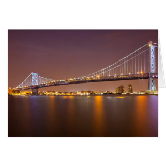 Ben Franklin Bridge Card