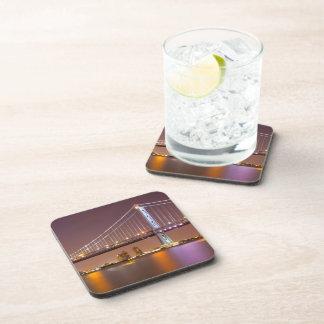 Ben Franklin Bridge Drink Coaster