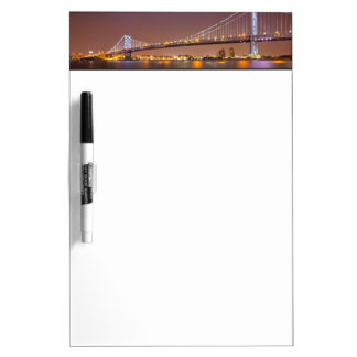 Ben Franklin Bridge Dry Erase Board