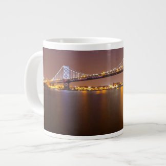 Ben Franklin Bridge Giant Coffee Mug