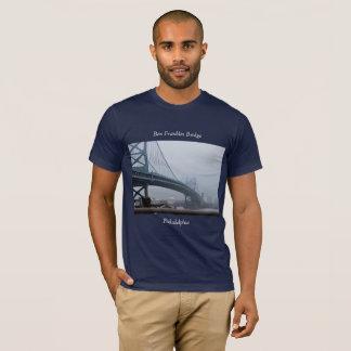 Ben Franklin Bridge Philadelphia T-Shirt