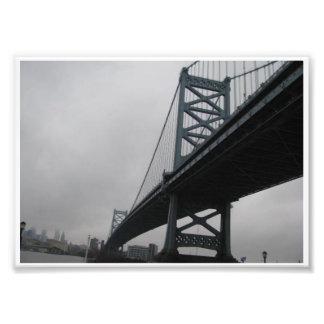 Ben Franklin Bridge Photo Art