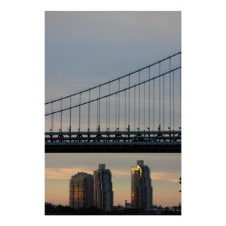 Ben Franklin Bridge Photo Poster
