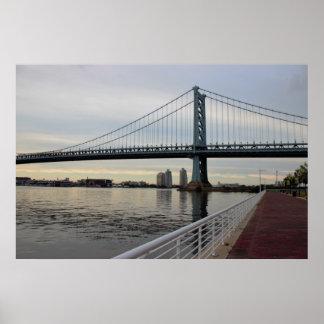 Ben Franklin Bridge Photo Poster