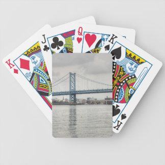 Ben Franklin Bridge Bicycle Card Decks