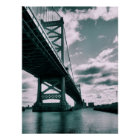 Ben Franklin bridge Poster