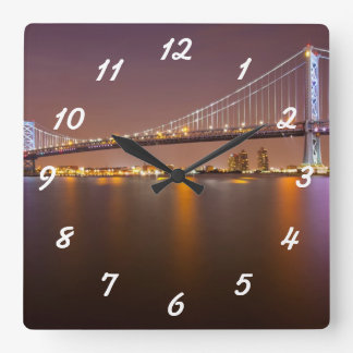 Ben Franklin Bridge Wallclock