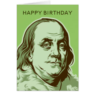 Ben Franklin Card