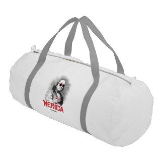 Ben Franklin 'Merican Party Gym Duffel Bag