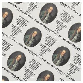 Ben Franklin Money Prolific Generating Nature Fabric