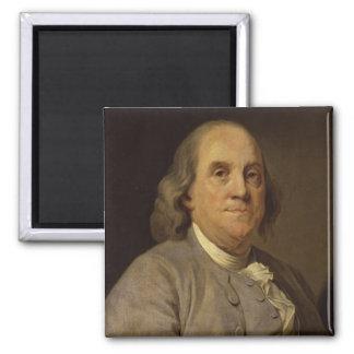 Ben Franklin Portrait Magnet