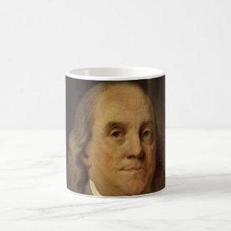 Ben Franklin Portrait Coffee Mugs