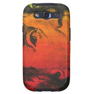 Ben Franklin Portrait- Painting & Silkscreen Galaxy S3 Case