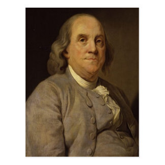 Ben Franklin Portrait Postcard