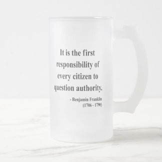 Ben Franklin Quote 3a Coffee Mugs