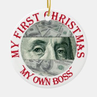 Ben Franklin s Eyes Christmas Ornament