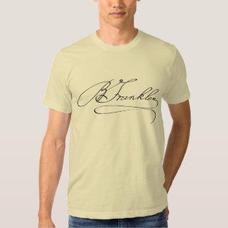 Ben Franklin Signature T Shirt