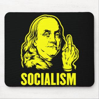 Ben Franklin Socialism Mouse Pad