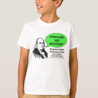 Ben Franklin speaks German Tee Shirts