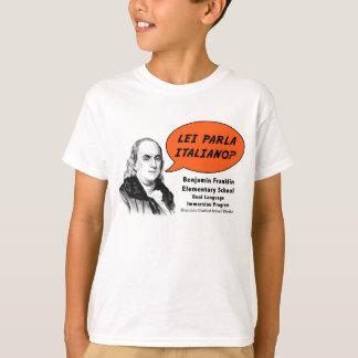 Ben Franklin speaks Italian T-Shirt
