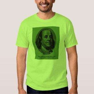 Ben Franklin Tears Tee Shirt