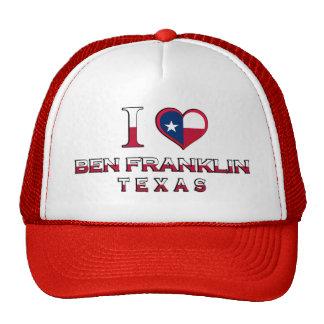 Ben Franklin, Texas Trucker Hat