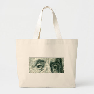 Ben Franklin's Eyes Tote Bags