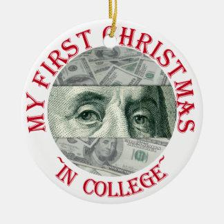 Ben Franklin's Eyes Christmas Ornament