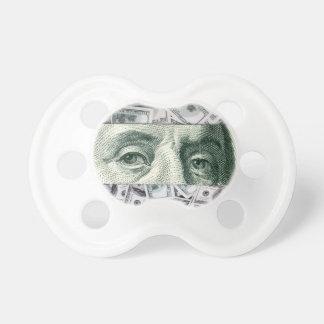 Ben Franklin's Eyes on $100 Bills Money Spread Dummy