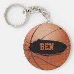 Ben Grunge Basketball Keychain / Keyring