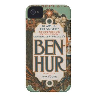 Ben Hur vintage art poster Case iPhone 4 Case