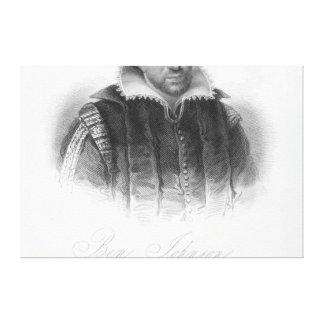 Ben Jonson Canvas Print
