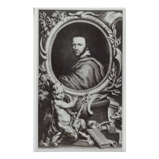 Ben Jonson  English playwright Poster