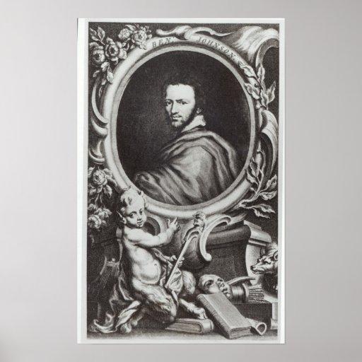 Ben Jonson  English playwright Posters