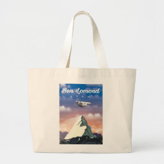 Ben Lomond,Utah travel poster Large Tote Bag