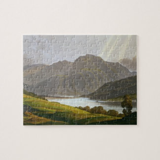 Ben Nevis, plate XII from 'Scenery of the Grampian Jigsaw Puzzle