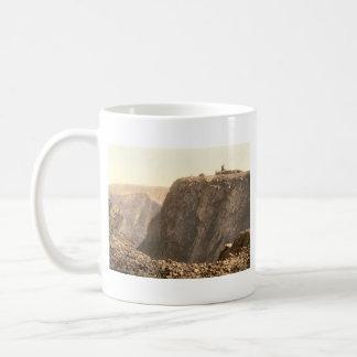 Ben Nevis Summit, Inverness, Scotland Basic White Mug