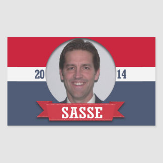 BEN SASSE CAMPAIGN RECTANGLE STICKER