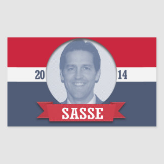BEN SASSE CAMPAIGN RECTANGLE STICKERS