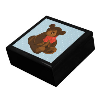Ben the Bear Large Square Gift Box