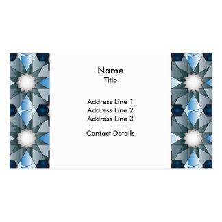 Ben Yusuf Madrasa Geometric Pattern 004 Business Card Template