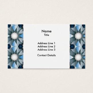 Ben Yusuf Madrasa Geometric Pattern 004 Business Card