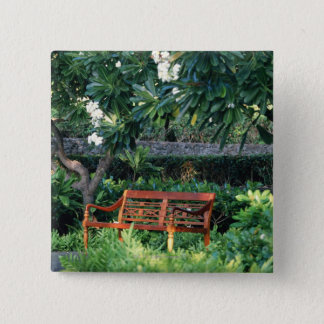 Bench 15 Cm Square Badge