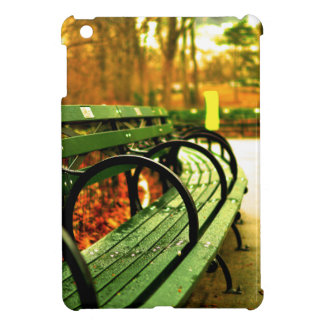 Bench at Central Park, New York City iPad Mini Covers
