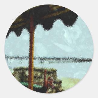 Bench Classic Round Sticker