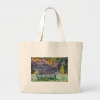 Bench For Day Dreaming Jumbo Tote Bag