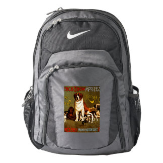 Bench Show. New England Kennel Club Backpack