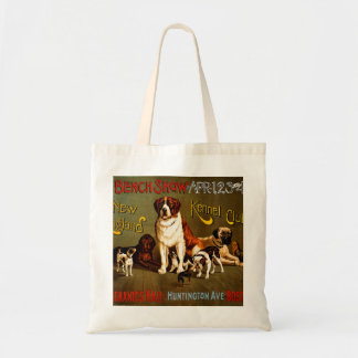 Bench Show. New England Kennel Club Budget Tote Bag