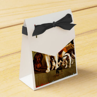 Bench Show. New England Kennel Club Favour Boxes