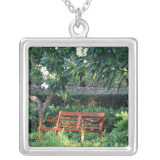 Bench Silver Plated Necklace